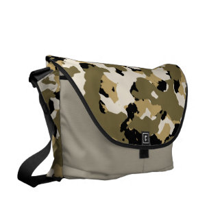 Desert Camouflage Pattern Courier Bags