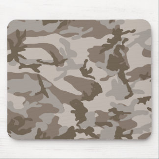 Desert camouflage pattern mouse pads