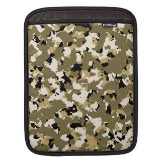 Desert Camouflage Pattern Sleeve For iPads