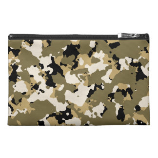 Desert Camouflage Pattern Travel Accessory Bags