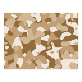 Desert Camouflage Postcard