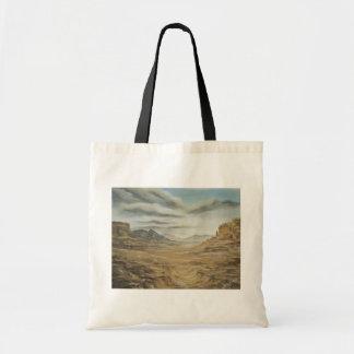 Desert Canvas Tote Bag
