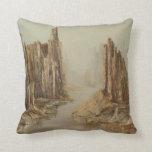 Desert Canyon Throw Pillow