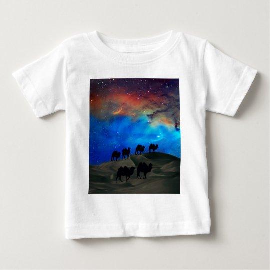 Desert caravan camels baby T-Shirt