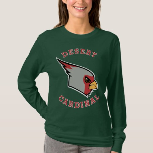 Desert Cardinal dark shirts