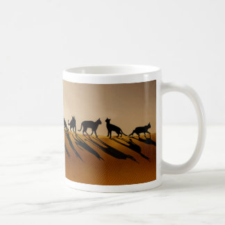 Desert Cats of Petra Coffee Mug