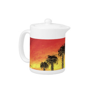 """""""Desert Celebration"""" Teapot by All Joy Art"""