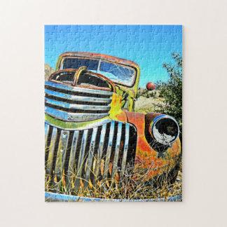 Desert Chevy Jigsaw Puzzle