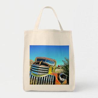 Desert Chevy Tote Bag