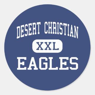 Desert Christian - Eagles - High - Tucson Arizona Classic Round Sticker