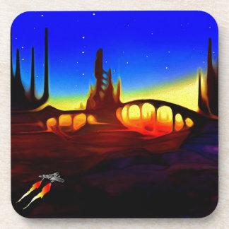 desert city drink coasters