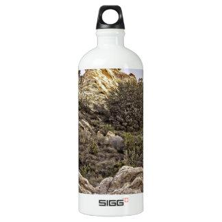 Desert Cliffs View Aluminum Water Bottle