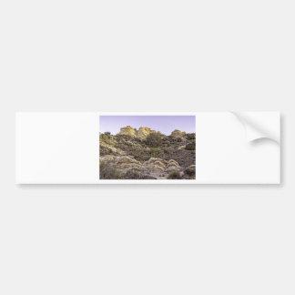 Desert Cliffs View Bumper Sticker