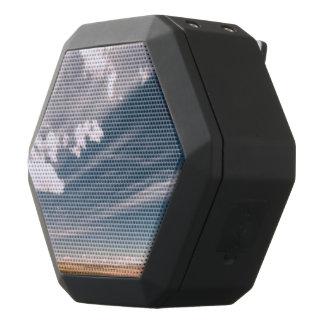 Desert clouds black bluetooth speaker