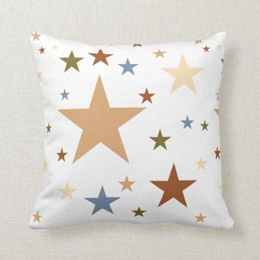 Desert Colors Stars Throw Pillows Zazzle