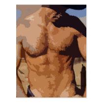 Desert Cowboy Postcard
