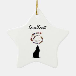 Desert Coyote Ornament