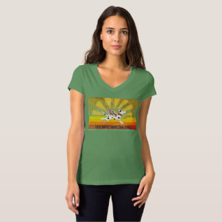 Desert Dal V-Neck Shirt