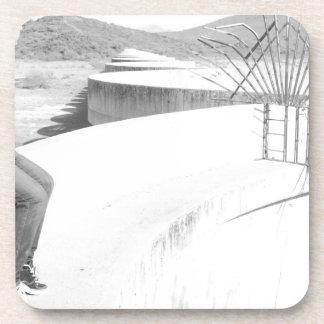 Desert Dam Picture Coaster