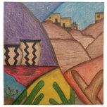 Desert Dance Printed Napkins