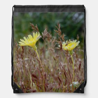 Desert Dandelion Drawstring Backpack