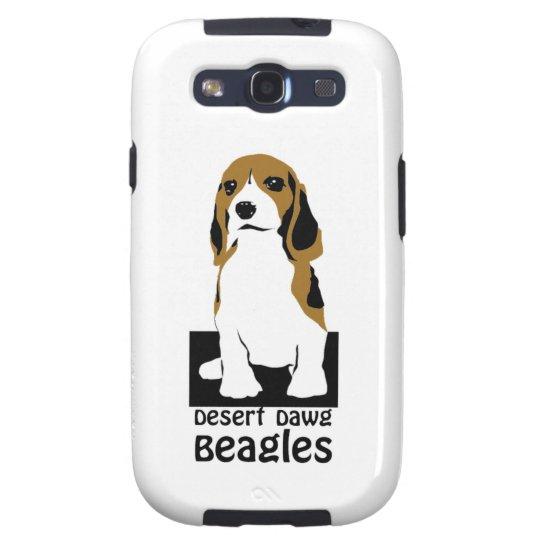 Desert Dawg Beagle Phone Cover