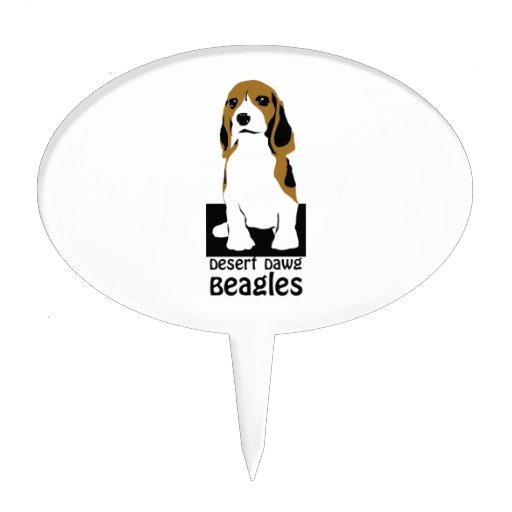 Beagle Cake Topper