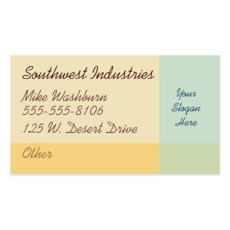 Desert Dawn Business Card