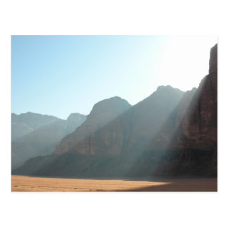 Desert dawn postcard