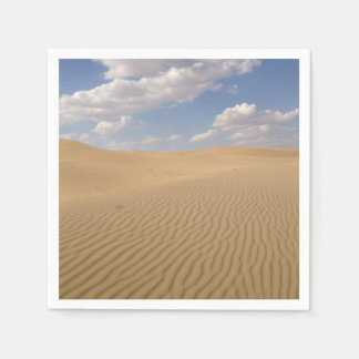 Desert day view napkin