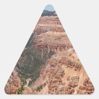 Desert Dead And Triangle Sticker