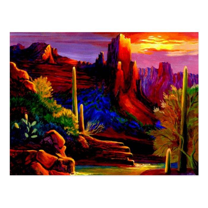 Desert Delight Postcard