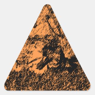 Desert Design Triangle Sticker