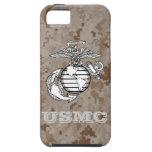 Desert Digital Camo Case (USMC) iPhone 5 Cases