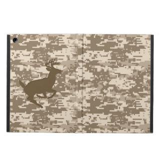 Desert Digital Camouflage Deer Camo Pattern iPad Air Cover