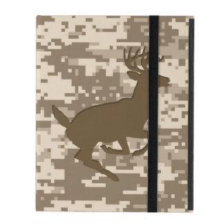 Desert Digital Camouflage Deer Camo Pattern iPad Case