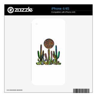 Desert Disco iPhone 4S Decal