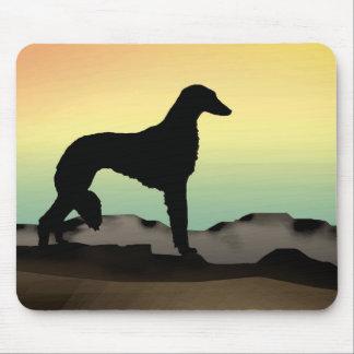 Desert Dog Saluki Mouse Pad