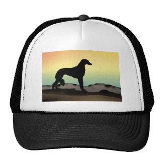 Desert Dog Saluki Trucker Hat