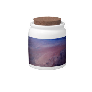Desert Dust Storm from Space Candy Jar