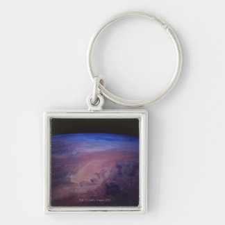 Desert Dust Storm from Space Keychain