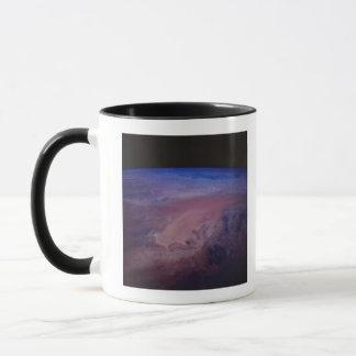 Desert Dust Storm from Space Mug