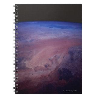 Desert Dust Storm from Space Journal
