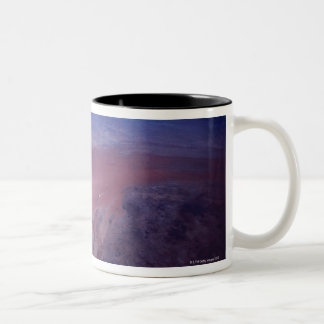 Desert Dust Storm from Space Two-Tone Coffee Mug