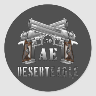 Desert Eagle .50 AE Classic Round Sticker
