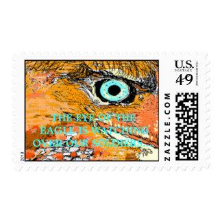 Desert Eagle Stamp