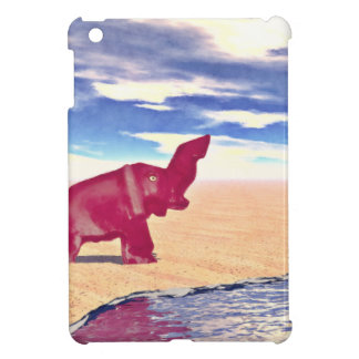 Desert Elephant Quest For Water Case For The iPad Mini
