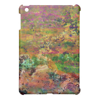 Desert Field Aerial View Abstract Art Landscape iPad Mini Covers