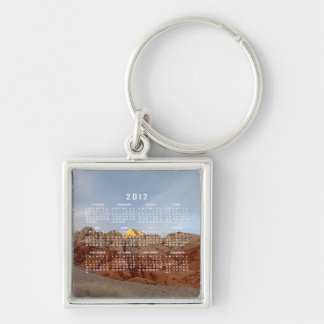 Desert Floor to Ceiling; 2012 Calendar Keychain