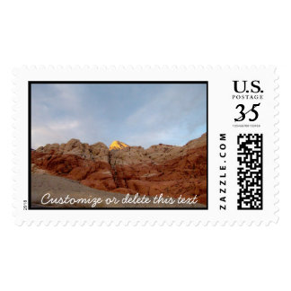 Desert Floor to Ceiling; Customizable Postage